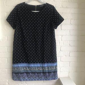 Lulus black short sleeve mini dress medium